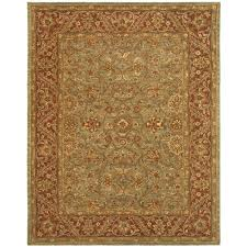 Rust Area Rug Safavieh Golden Jaipur Green Rust 8 Ft 3 In X 11 Ft Area Rug