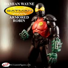 damian wayne batman inc jet suit robin ac custom figures