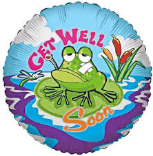 get well soon balloons the frog store frog gifts frog party supplies frog jewelry toys