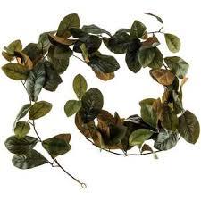 magnolia leaf garland 6 green magnolia leaf garland hobby lobby 1071810