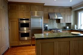 custom rift oak kitchen in russian hill san francisco marin