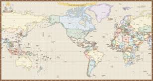 Antique World Map by World Map Us Ant Miller Map Digital Creative Force