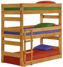 bunk beds for foter Three Person Bunk Bed