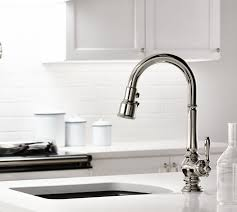 polished nickel kitchen faucets 1000 ideas about kitchen sink faucets on kitchen