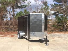Enclosed Trailer Awning For Sale Anvil 6 X 10 Cargo Trailer Single Axle Enclosed