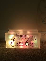 easter glass block light tutorial just plum