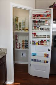 kitchen spice rack ideas cabinet pantry door shelf best images about pantry closet on