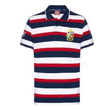 British Flag Shirts British U0026 Irish Lions Hoop Polo Multi