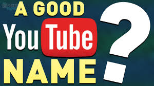 Ideas With A Name How To Think Of An Awesome Channel Name Username