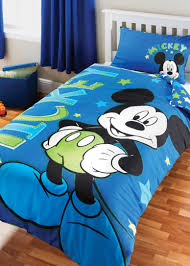 Minnie Mouse Bedspread Set Mickey Mouse Minnie Bedding Set Design Blue Red Decor Crave