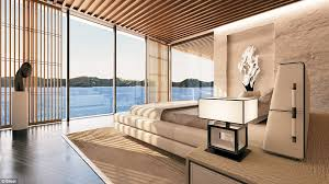 Home Yacht Interiors Design Is This The Super Yacht Of The Future Symmetry The 590ft Floating