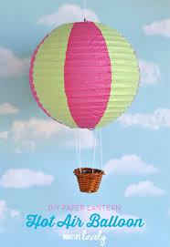 easy to make home decorations paper lantern air balloons paper lanterns air balloons