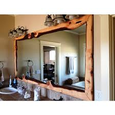 unique decorative bathroom mirrors interior design ideas