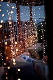 Stringing Lights In Backyard by Atmoshphere I Think This Would Be Beautiful In A Gazebo In Your