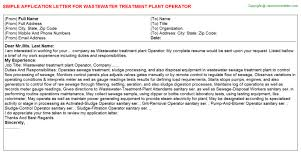 Water Treatment Plant Operator Resume Wastewater Treatment Plant Operator Job Title Docs