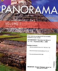 panorama 5th ed loosleaf vol 1 chp 1 8 w supersite 12m and
