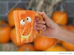 halloween coffee mugs pumpkin mug image
