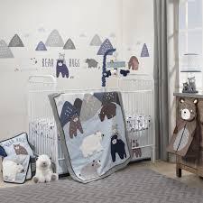 Grey Nursery Bedding Set Navy And Grey Crib Bedding Design Lostcoastshuttle Bedding Set
