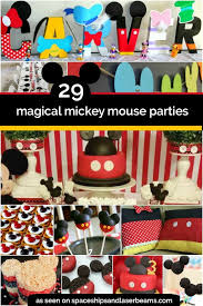mickey mouse birthday 29 magical mickey mouse party ideas spaceships and laser beams