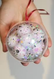5 fillable diy glitter bauble ideas joanna