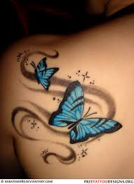 front shoulder tattoos for 60 butterfly tattoos feminine