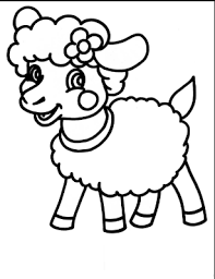 sheep coloring pages preschool free coloring pages kids