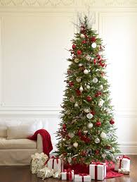 decorating costco artificial trees 9 ft slim tree