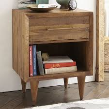 alexa reclaimed wood nightstand west elm
