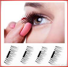 Makeup Remover For Eyelash Extensions Magnetic Eye Lashes 3d Mink Reusable False Magnet Eyelashes