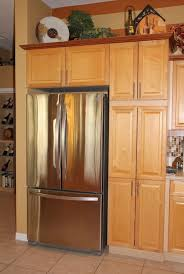 tall kitchen cabinet pantry kitchen oak wood tall kitchen cabinet including stainless modern