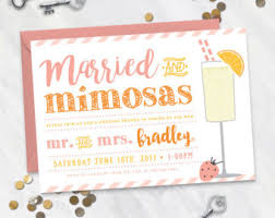 mimosa brunch invitations wedding brunch invitations gangcraft net