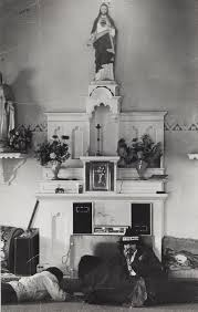 cook siege altar inside church during the siege at wounded knee south dakota