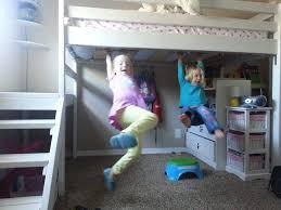 cool children loft bed plans nice design 9775