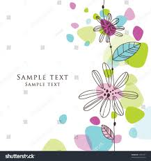 Greeting Cards For Invitation Cute Birthday Greeting Card Stylish Colorful Stock Vector 73771921