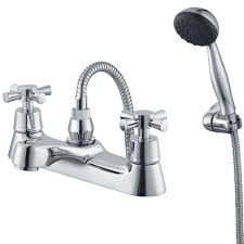 plumbsure taps diy plumbsure crystal chrome bath shower mixer tap