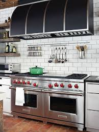 commercial kitchen backsplash subway tile kitchen backsplash kitchen bhg