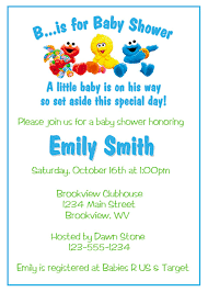 sesame street baby shower sesame street baby shower invitations