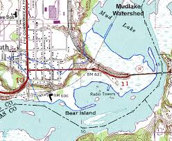 Lake Maps Mn Lakesuperiorstreams Mud Lake Watershed Maps