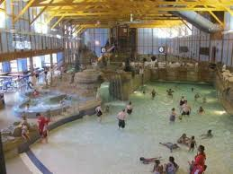 grizzly jacks grand bear resort wedding ceremony the entire water park is in this picture small grizzly jack s