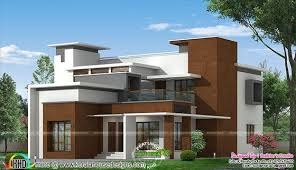 Home Design 1900 Square Feet Box Type Modern Home Architecture Plan Kerala Home Design