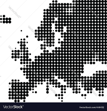 map europe vector map of europe royalty free vector image vectorstock