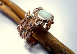 Opal Wedding Ring by Engagement Rings Opals Awesome Diamond Opal Rings Boulder Opal