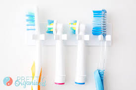 small space solutions toothbrush storage how to organize
