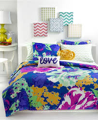 Colorful Comforters For Girls 178 Best Bedding For Her Images On Pinterest Dorm Ideas