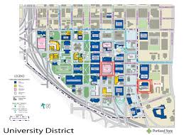 Columbia College Chicago Campus Map by Portland State University Campus Map My Blog
