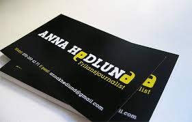 cards for business 15 cool journalist business cards printaholic