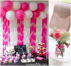 background decoration for birthday party at home loves of life emelines hello kitty 3rd birthday party balloon
