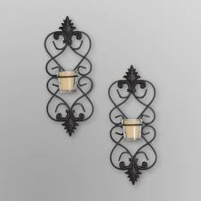 three hands metal wall sconces u0026 votives filigree food