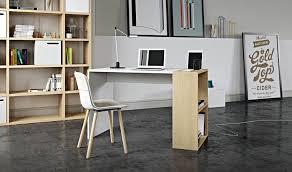 bureau avec rangement intégré bureau design avec rangement intégré pour smartphone et tablette