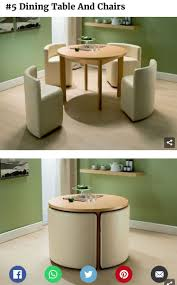 Space Saving Table And Chairs by 663 Best Clever Furniture Images On Pinterest Woodwork Chairs